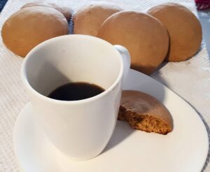 catalinas con cafe negro
