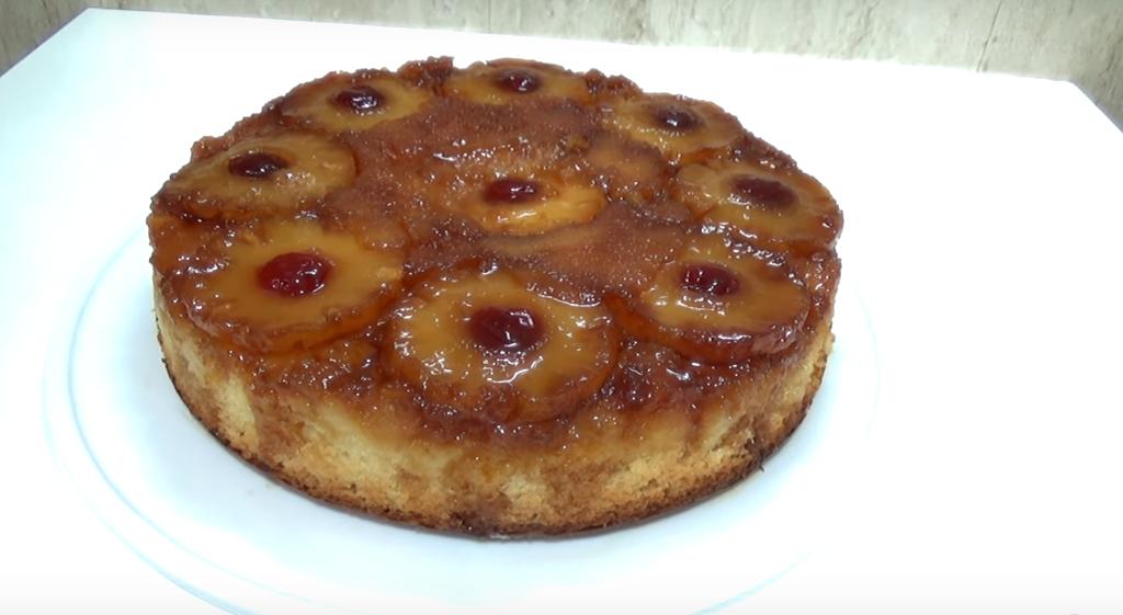 Como preparar torta de piña