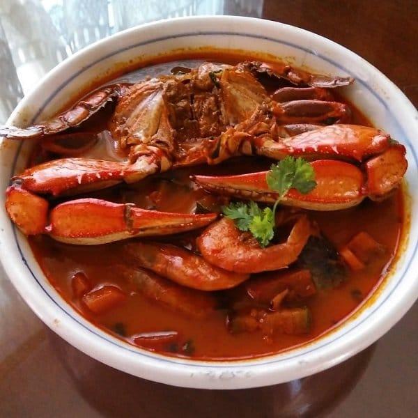 Receta de  sopa de mariscos