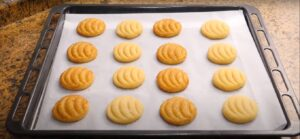 galletas de naranja para hornear